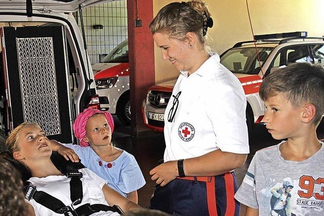 Kinder sind nun gut auf einen Notfall vorbereitet
