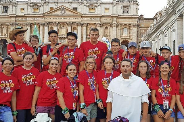 Bernauer Ministranten zu Gast in Rom