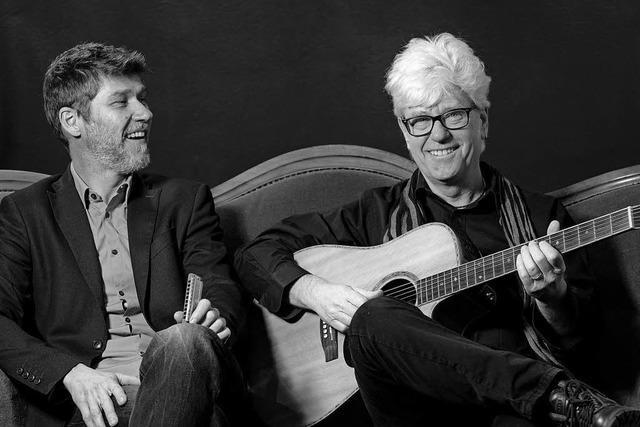 Historischer Blues vom Duo