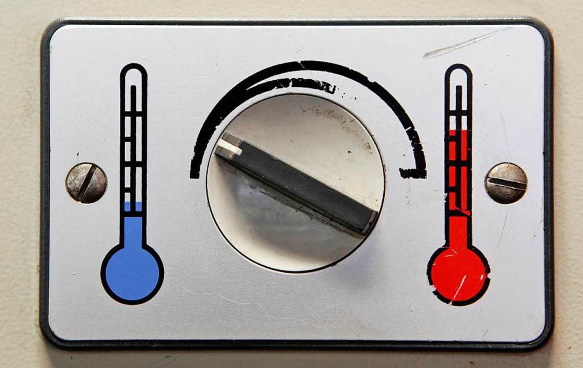 Warm oder kalt? Über den Einsatz von K...gestritten – vor allem im Büro.     Foto: DPA