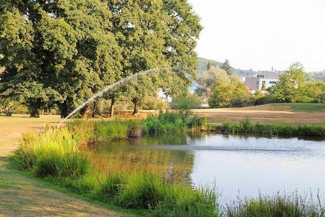 Woher das Wasser für die Greens des Schopfheimer Golfplatz wirklich kommt