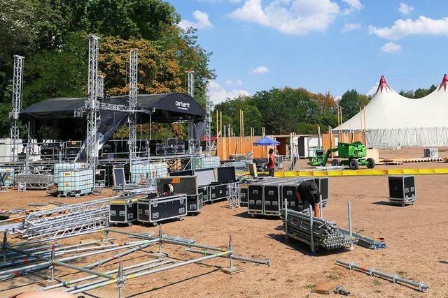 Beim Grenzenlos-Festival in Weil am Rhein kann am Samstag im Klang gebadet werden