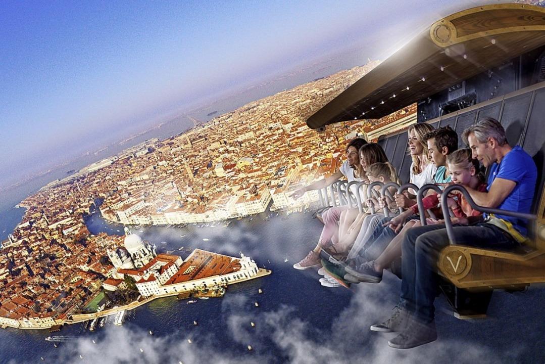 Atemberaubendes  Fluggefühl im Voletarium   | Foto: Europa-Park