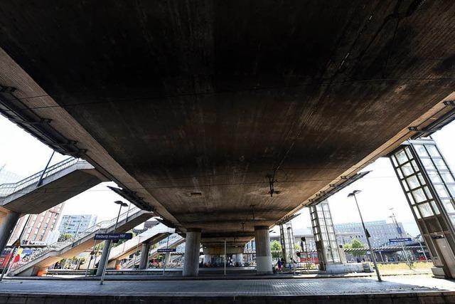 Sanierung der Freiburger Stadtbahnbrücke könnte sechs bis acht Jahre dauern