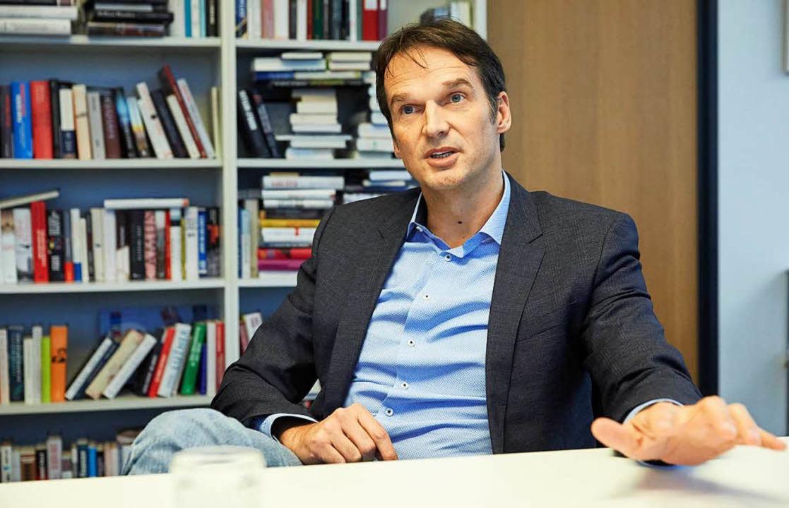 Der bisherige Chefredakteur Klaus Brinkbäumer.  | Foto: dpa