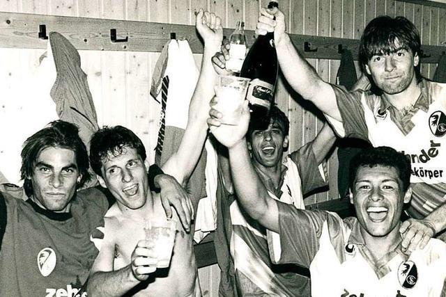 So schaffte der SC Freiburg 1993 den Aufstieg in die 1. Bundesliga