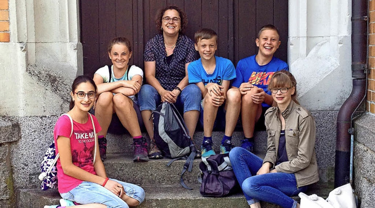 Ausflug: Die Münchinger Ministranten u... Pfarrkirche St. Clemens in Triberg.      Foto: Martin Hogg