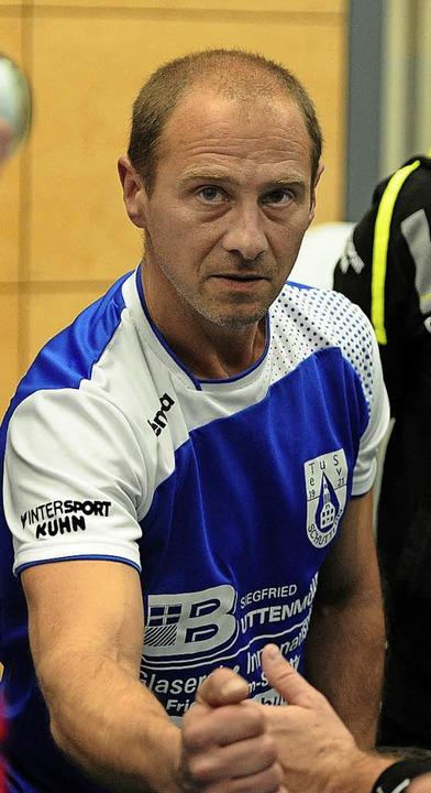 Axel Schmidt will seine Spieler weiter entwickeln.   | Foto:  Büro Schaller