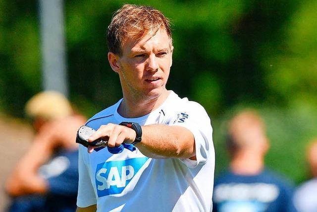 Hoffenheim nimmt die Rolle des Herausforderers an