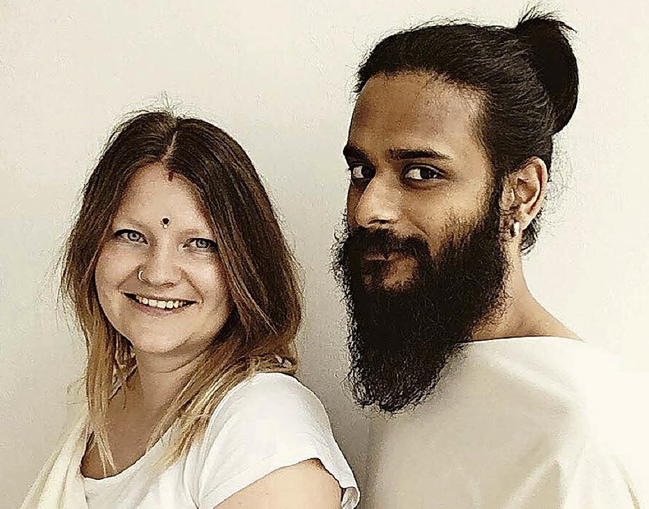 Radha (links) und Eshaan Dwivedi  | Foto: privat