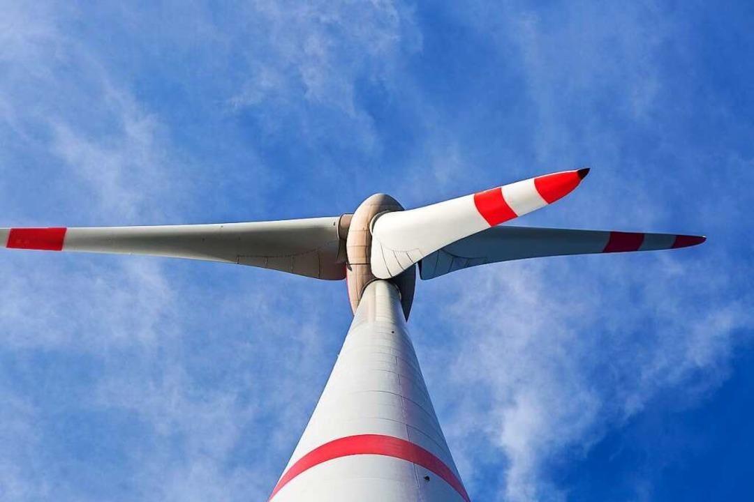 Hier wird durch Wind Strom erzeugt.  | Foto: Carlotta Huber
