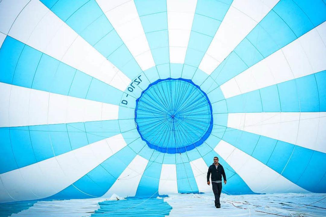 Das Ballonfestival in Müllheim bietet Gelegenheit zu Ballonfahrten.  | Foto: Stadt müllheim