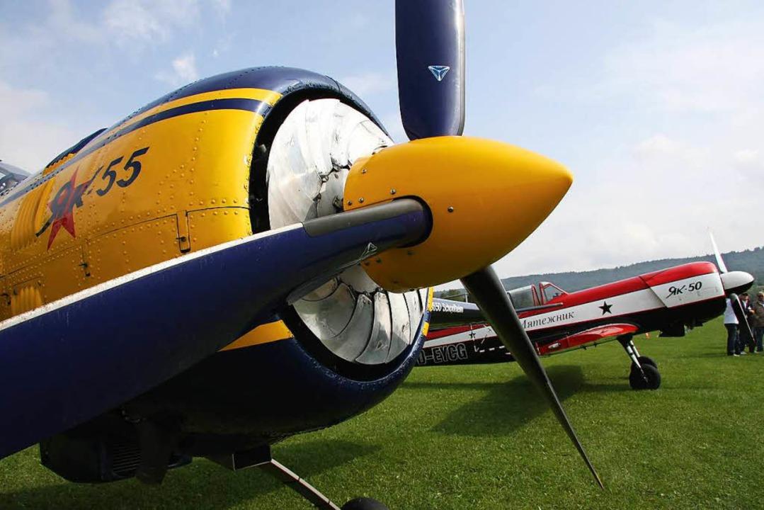 Beim Flugplatzfest in Ettenheim gibt&#...eben verschiedenen Flugzeugmodellen...  | Foto: Privat