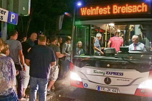 Sicher ins Weindorf nach Breisach und wieder zurück