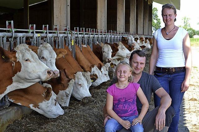 Der Beste unter mehr als tausend Milchbauern