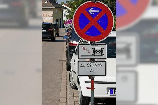Weitere Straßen in Bad Krozingen werden gesperrt