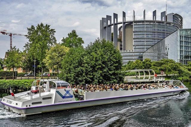 Bootsfahrten in Straßburg der Renner