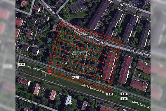 Freiburger Vermessungsamt nutzt Drohnenaufnahmen für Berechnung der Friedhofsgebühren