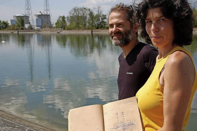 EINEN BLICK AUFS AKW...: Fessenheims Geschichte als Comic