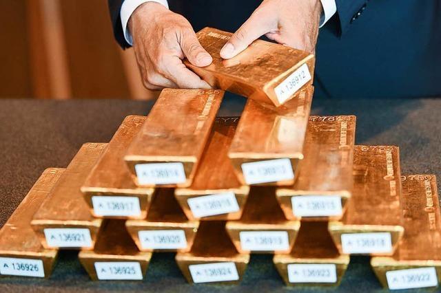Gold gilt nicht mehr als Krisenwährung