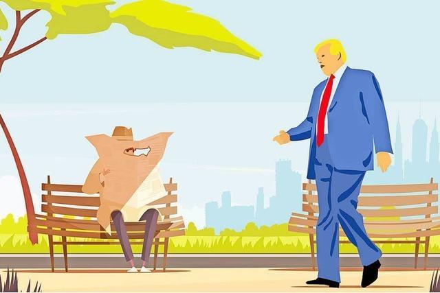 Donald Trump, der Verschwörungstheoretiker