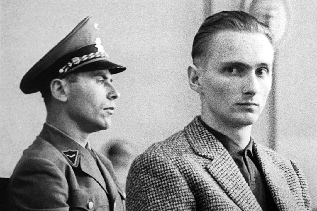 Der Raub- und Sexualmöder Heinrich Pom...chwarzwald festgenommen werden konnte.  | Foto: ard