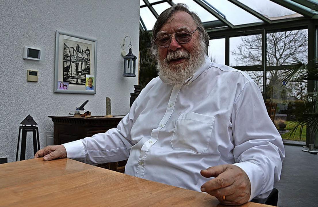 Lenkt auch noch mit 75 Jahren die Geschicke der Brennet GmbH: Stephan Denk    Foto:  Bader