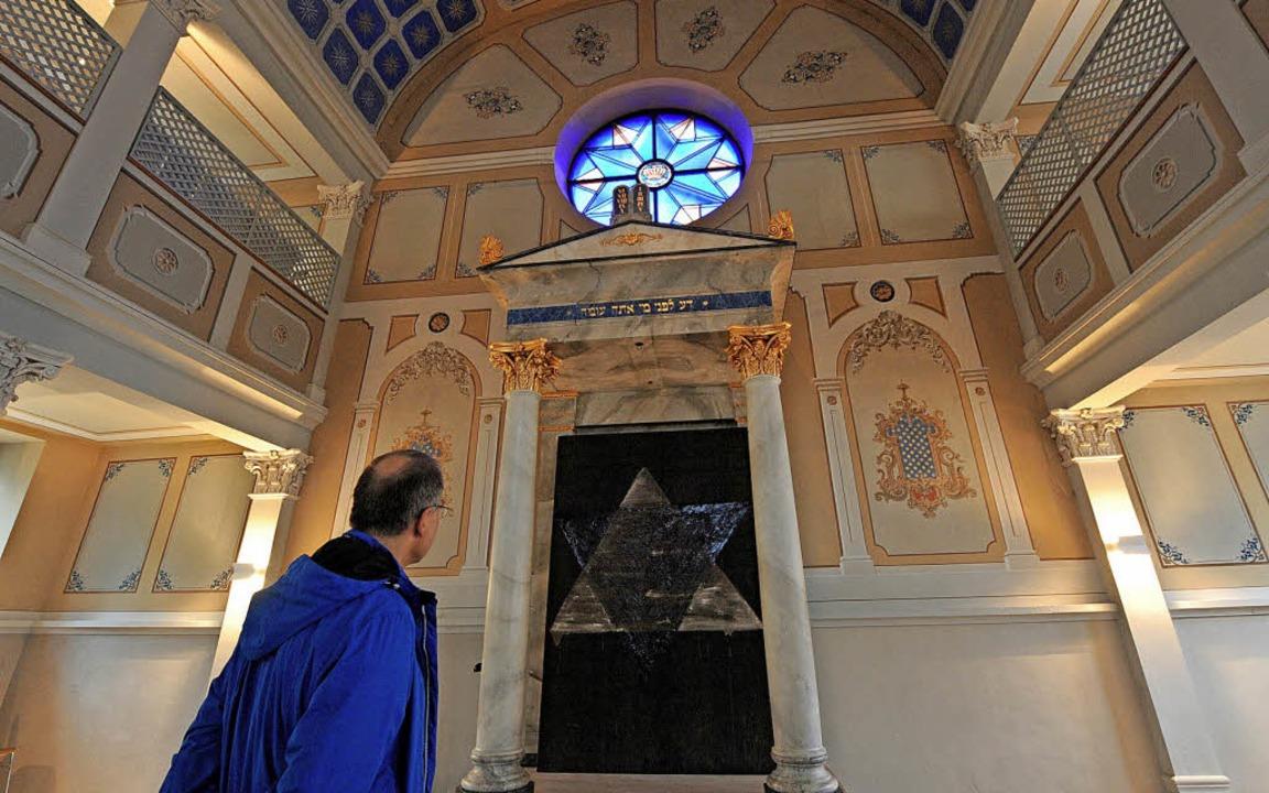 Lädt am Europäischen Tag der jüdischen...in: die ehemalige Synagoge in Sulzburg    Foto:  dpa