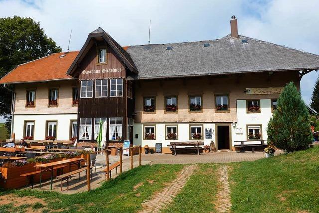 Neubeginn im Berggasthaus Giesshübel auf dem Stohren