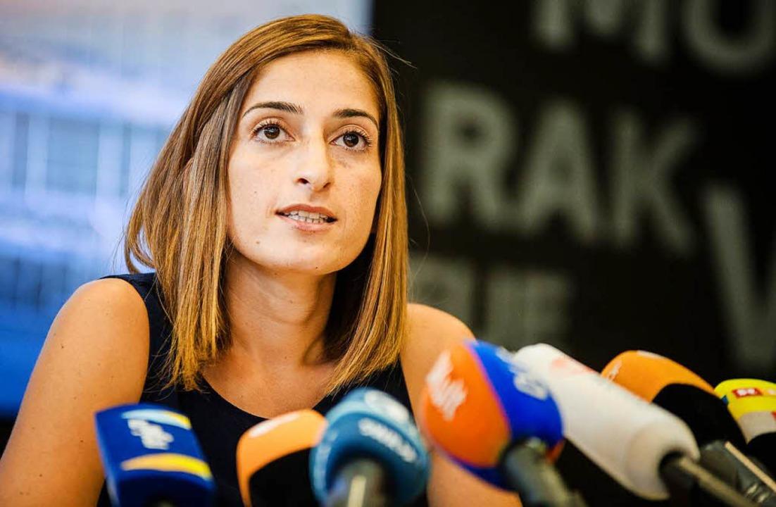 Die deutsche Journalistin Mesale Tolu ...n Terrorvorwürfen festgehalten worden.    Foto: dpa