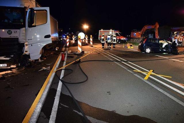 Spielte die Verkehrsführung eine Rolle beim tödlichen Unfall auf der B 31?