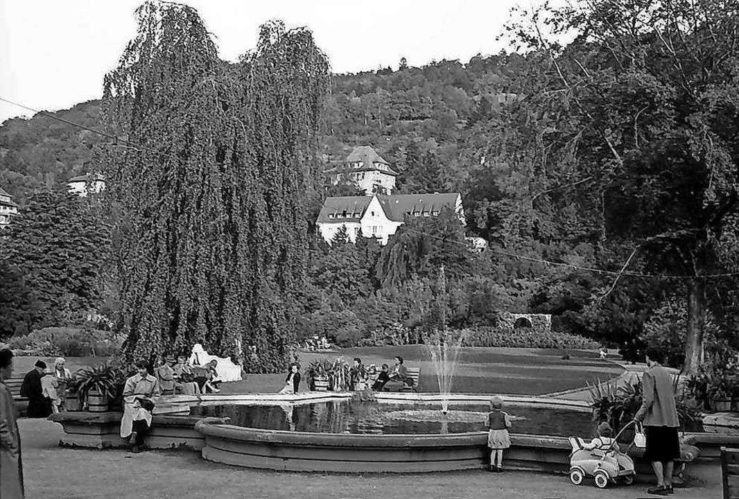 Das historische Bild zeigt den südlich...rstellung im Jahre 1953 präsentierte.   | Foto: Willy Pragher (Staatsarchiv W134 022644a)