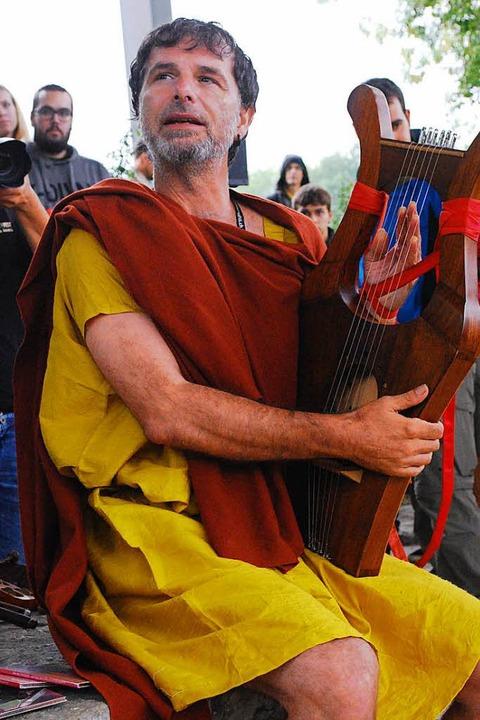 Römischer Musiker.  | Foto: Thomas Loisl Mink