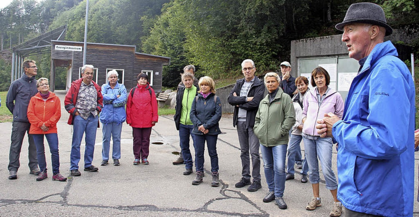 Das Energiemuseum in Rickenbach war ei...tzenwald damals und heute beleuchtete.  | Foto: Charlotte Fröse