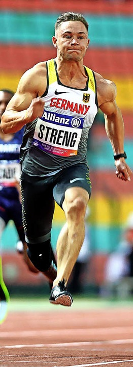 Sprinter Felix Streng   | Foto: DPA