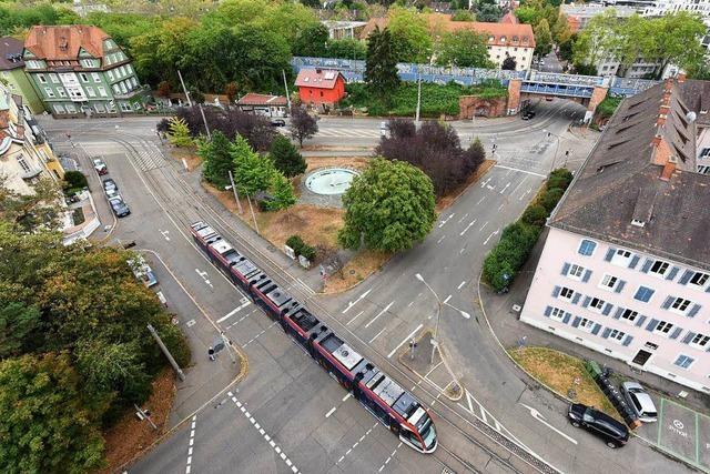 Die Baustelle am Freiburger Komturplatz ist übel, aber notwendig
