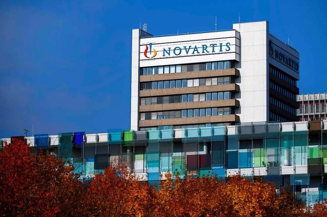 Das Novartis-Gebäude in Basel  | Foto: AFP