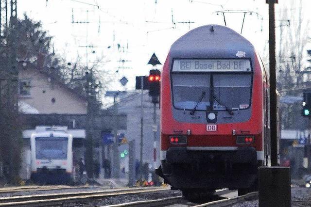 Gruppenschlägerei in der Regionalbahn zwischen Freiburg und Basel