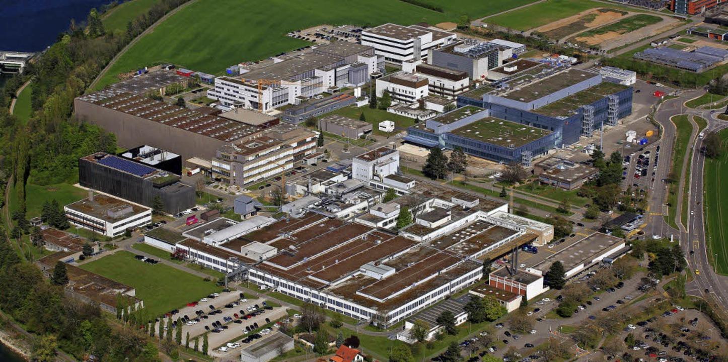 Das Werk in Stein ist weltweit nach wi...ste Produktionsstandort für Novartis.   | Foto: Erich Meyer