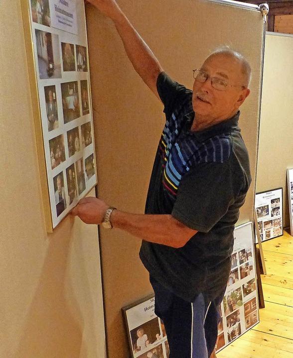 Karl Ritter hat reichlich zu tun, um d...ahrzehnten Museumsarbeit zu bestücken.    Foto: Claudia Bachmann-Goronzy