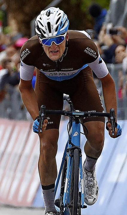 Zabel und Sieberg hinter sich gelassen...ach der dritten Etappe kam Frust hoch.  | Foto: AFP