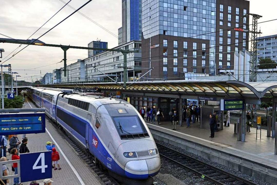 Der TGV soll künftig gen Norden nach Paris fahren.   | Foto: Michael Bamberger