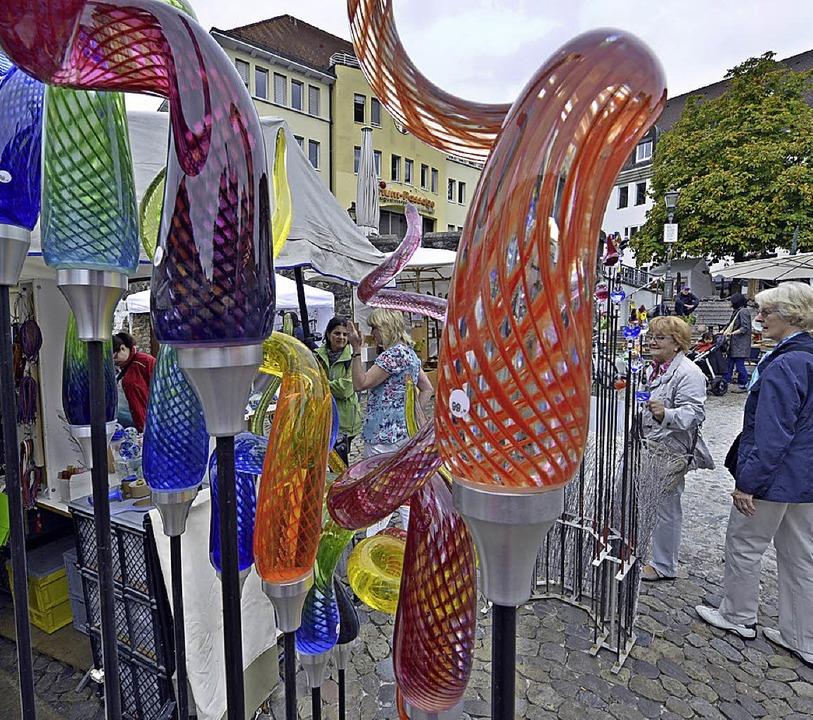 Präsente für jeden Geschmack gibt's bei Kunst in der oberen Altstadt.    Foto: Michael Bamberger
