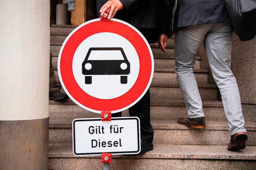 Bei Diesel-Fahrverboten  wird in Bayern gemauert.    Foto: dpa