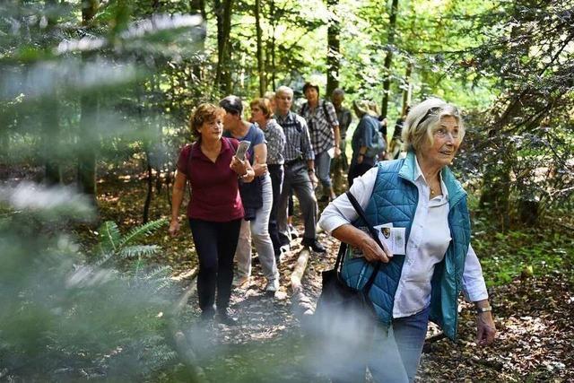 Fotos: BZ-Ferienaktion zu Gast beim Walderlebnis Wonnhalde