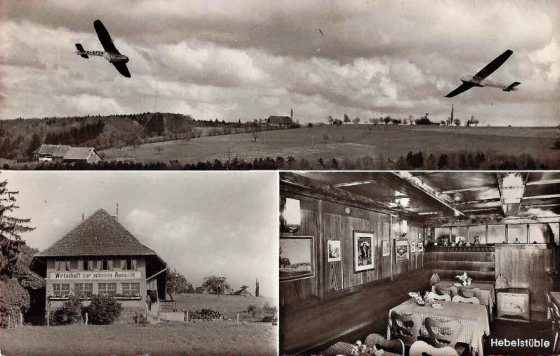 Segelflieger 1958    Foto: Manfred Eble