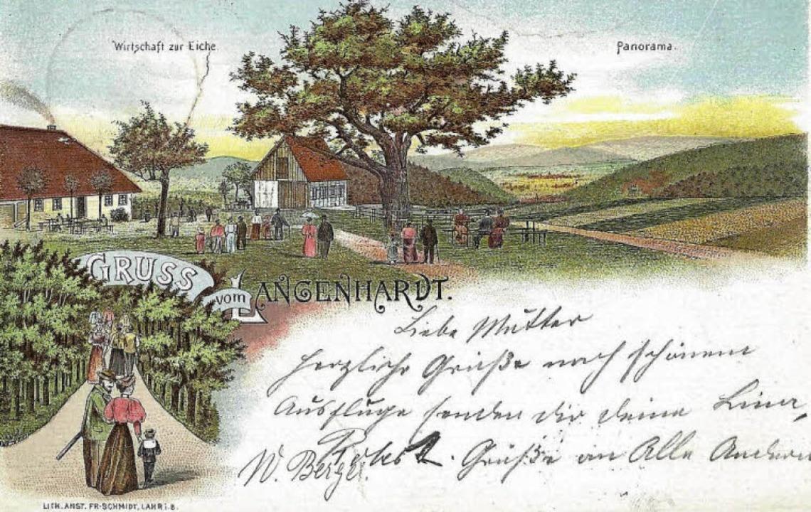 Der Langenhard 1898    Foto: Manfred Eble