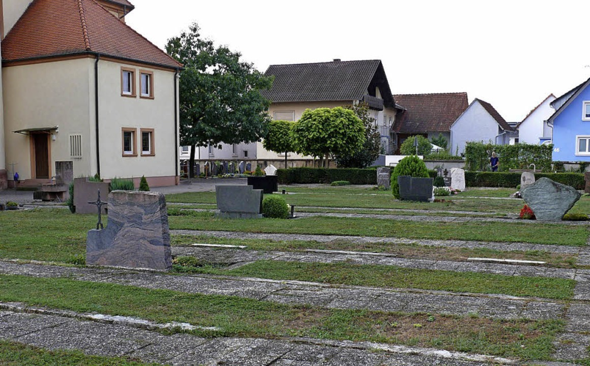 Die Sanierungsarbeiten auf dem Ringsheimer Friedhof beginnen am 3. September.  | Foto: Gemeinde