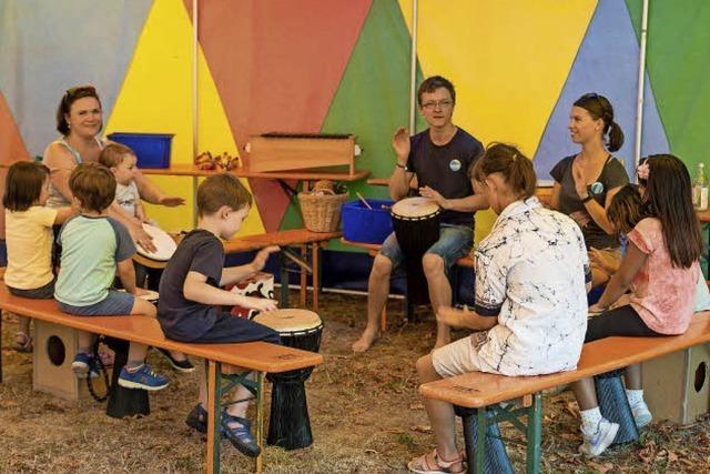 Im Eschholzpark finden die Spielmobil-Ferientage statt