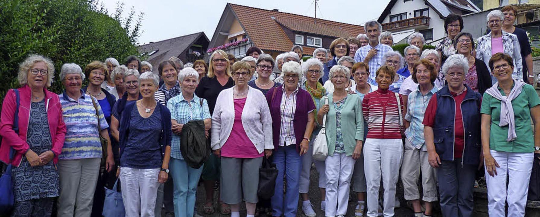 52 Frauen der Frauengemeinschaft Mahlb...uf den Weg in den Schwarzwald gemacht.    Foto: KFD Mahlberg